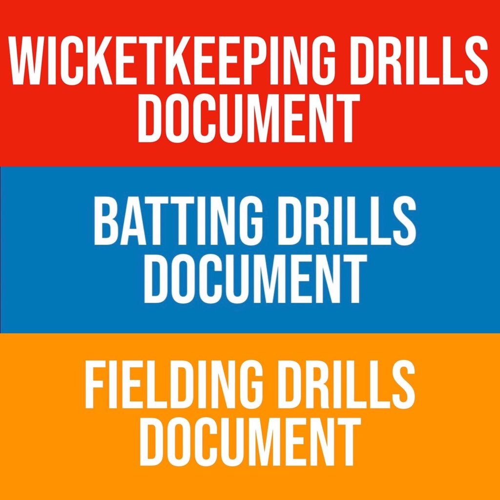 Cricket Drills whilst you #StayatHome