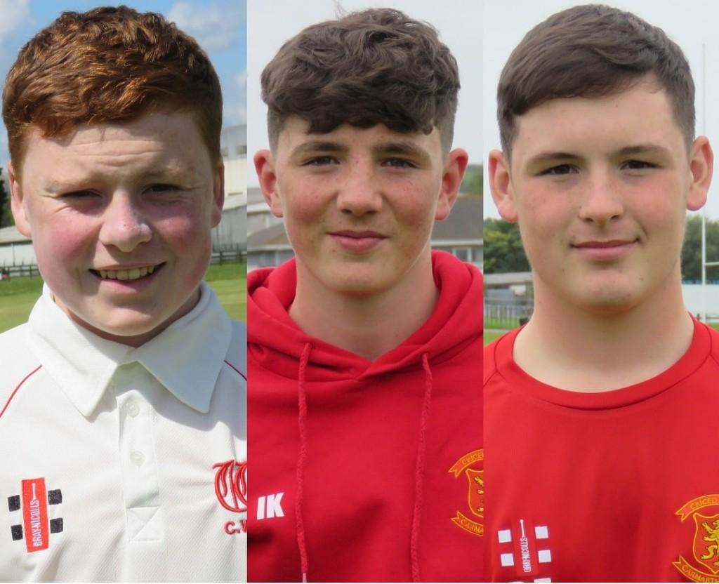Trio selected for Glamorgan U18s
